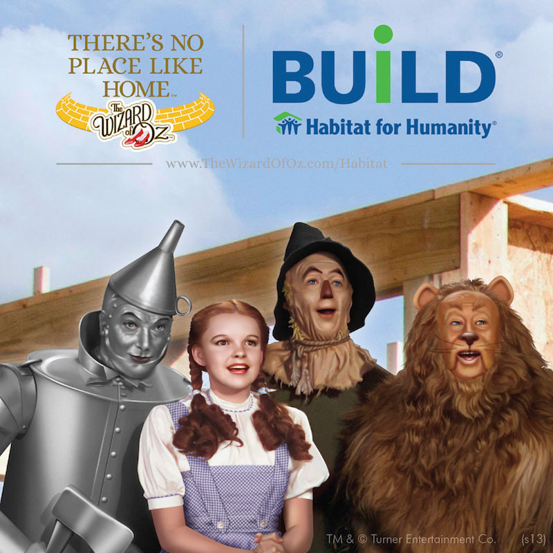 Help Habitat for Humanity build homes, because there's no place like home!